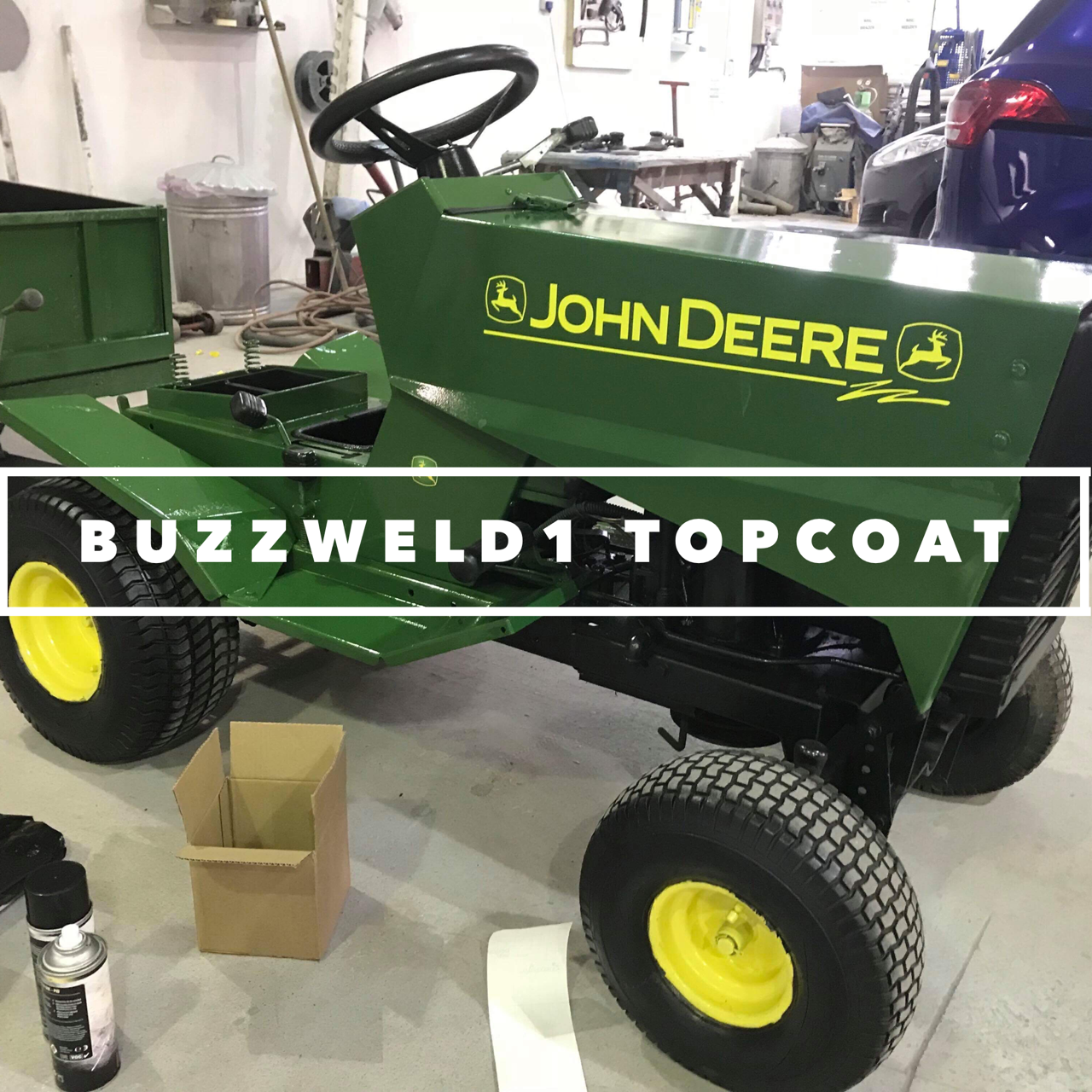 Buzzweld 1 Top coat