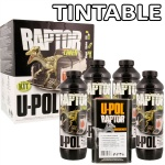 RAPTOR: Durable Bed Liner + Protective Coating TINTABLE