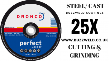DRONCO HYBRID GRINDING/ CUTTING disc. A 30 S-BF