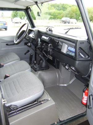 Wright Offroad Defender R380 Matting system sound and Thermal Control