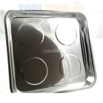 Magnetic tray. Stainless steel