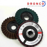 Dronco Hybrid Flap Disc G-VA Paint and Rust removing wheel