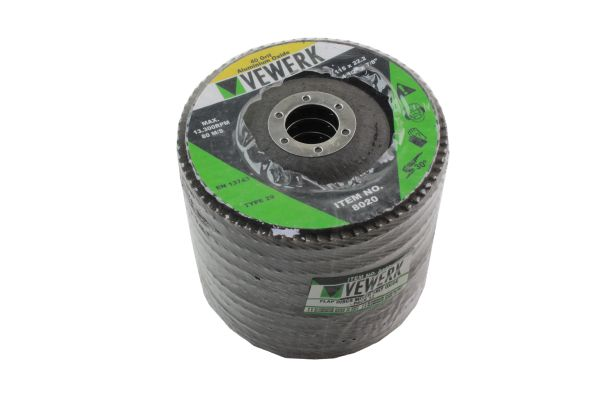 Mixed Grit flap Disc pack x12 115mm