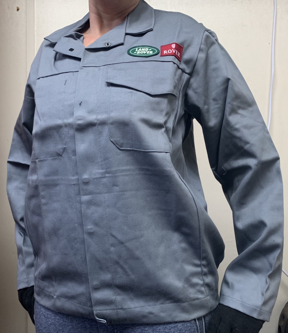 Landrover / Rover assemly line original workwear tops. Fire resistant