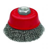Dronco 60mm Heavy-Duty Tapered Wire Brush Wheel