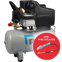 7.2 CFM 24L 2HP Direct Drive Compressor with MK4 tyre inflator