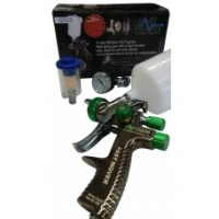 1.8mm LVLP Gravity spray Gun with Reg and trap