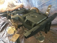WAR PREMIUM CHASSIS PAINT RUSTPROOFING KIT