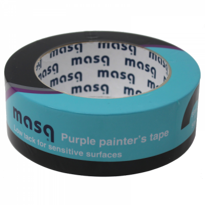 Masq Purple Painters Tape - Low Tack 50MM x 50M