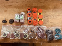 50mm Roloc Refill kit Mega Assortment