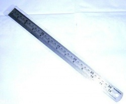 Stainless Steel Engineers Ruler 300mm