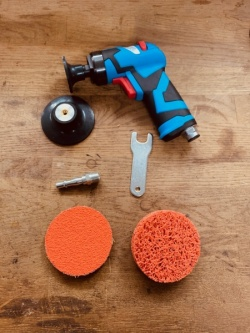 Angle Sander kit | Basic Paint & Metal refinishing