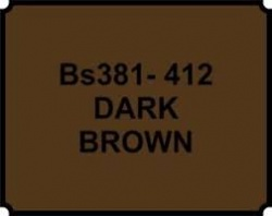 Dark Brown BS381 412 Aerosol Paint
