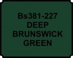 Deep Brunswick Green BS381 227 Aerosol Paint