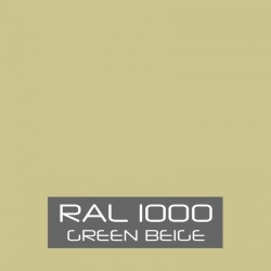 RAL 1000 Green Beige tinned Paint