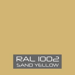 RAL 1002 Sand Yellow tinned Paint