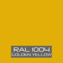 RAL 1004 Golden Yellow tinned Paint