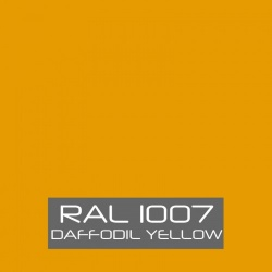 RAL 1007 Daffodil Yellow tinned Paint