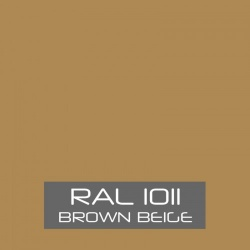 RAL 1011 Brown Beige tinned Paint