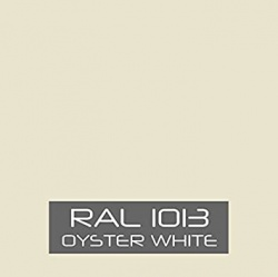 RAL 1013 Oyster White tinned Paint