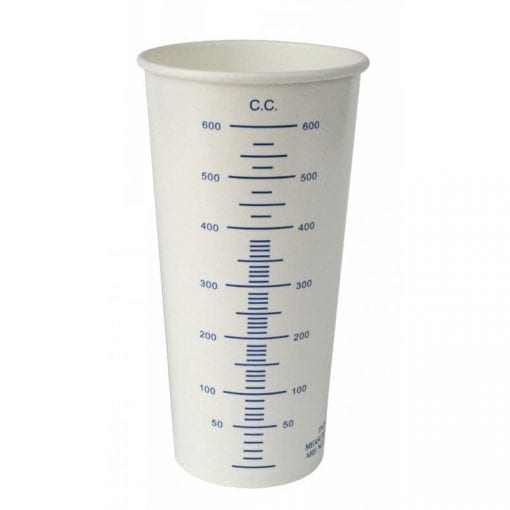 600ml Paint Mixing Cups Buzzweld Coatings