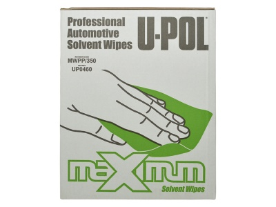 Upol Raptor Panel Wipe Cloths 350 Sheets boxed dispenser