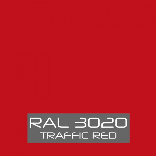 RAL 3020 Traffic Red tinned Paint