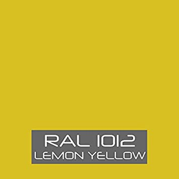 RAL 1012 Lemon Yellow tinned Paint