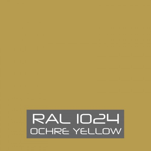 RAL 1024 Ochre Yellow tinned Paint