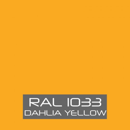 RAL 1033 Dahlia Yellow tinned Paint