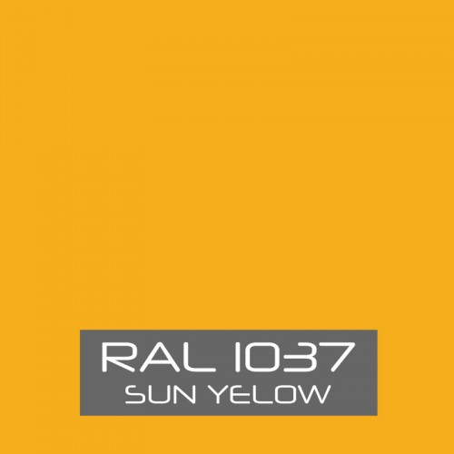 RAL 1037 Sun Yellow tinned Paint