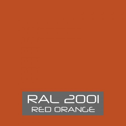 RAL 2001 Red Orange tinned Paint