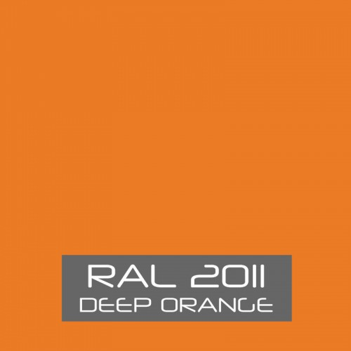 RAL 2011 Deep Orange tinned Paint