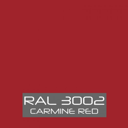 RAL 3002 Carmine Red tinned Paint