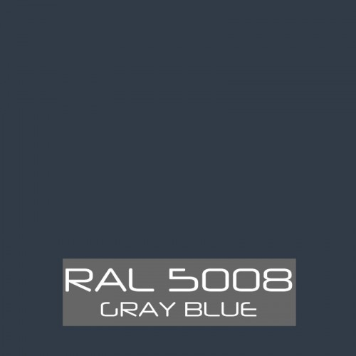 RAL 5008 Gray Blue tinned Paint