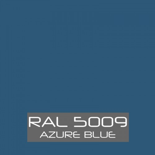 RAL 5009 Azure Blue tinned Paint