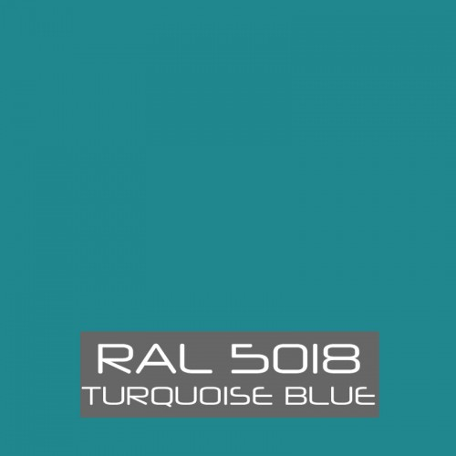 RAL 5018 Turquoise Blue tinned Paint