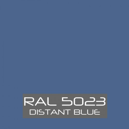 RAL 5023 Distant Blue tinned Paint