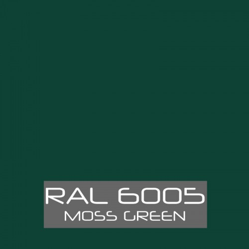 RAL 6005 Moss Green tinned Paint Buzzweld Coatings
