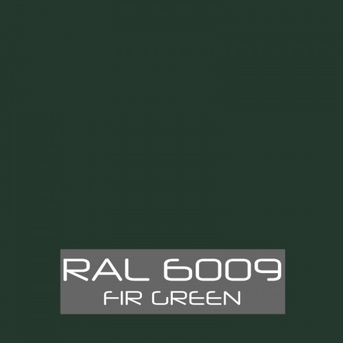 RAL 6009 Fir Green tinned Paint