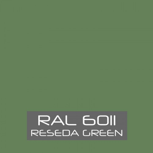 RAL 6011 Reseda Green tinned Paint