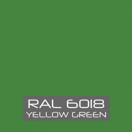 RAL 6018 Yellow Green tinned Paint