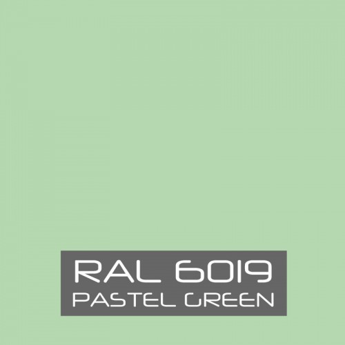 RAL 6019 Pastel Green tinned Paint