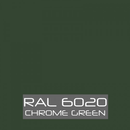 RAL 6020 Chrome Green tinned Paint