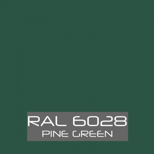 RAL 6028 Pinetree Green tinned Paint