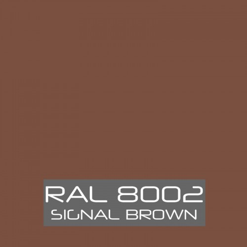 RAL 8002 Signal Brown tinned Paint