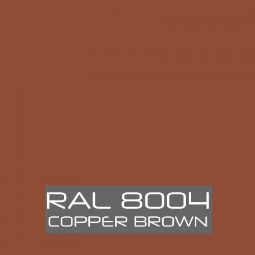 RAL 8004 Copper Brown tinned Paint