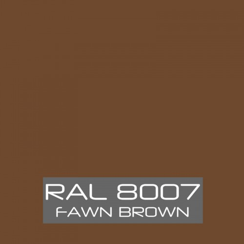 RAL 8007 Fawn Brown tinned Paint