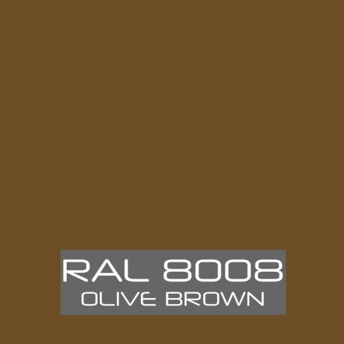 RAL 8008 Olive Brown tinned Paint