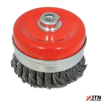 Industrial 100MM Twist Wire Brush Cup for Angle Grinders